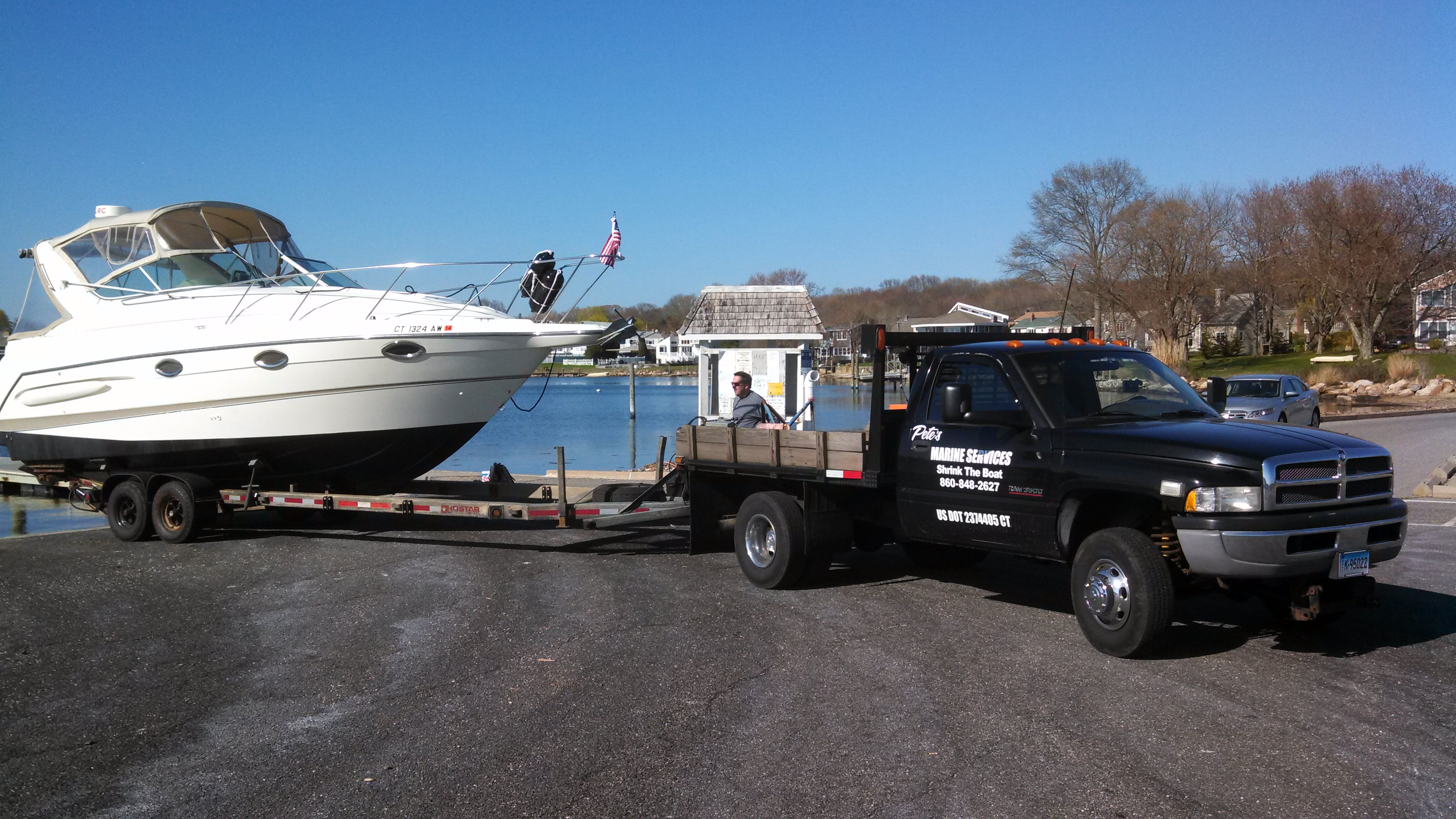 Boats We Have Hauled And Shrank Pete 39 S Marine Services